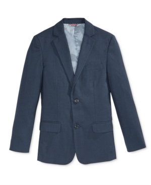 Tommy Hilfiger Sharkskin Blazer Big Boys (820)