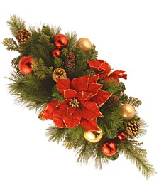 """30"""" Decorative Collection """"Home For the Holidays"""" Centerpiece"""