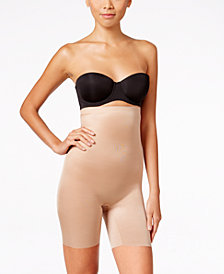 SPANX Women's  Skinny Britches High-Waisted Mid-Thigh Short 10080R