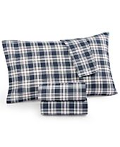 CLOSEOUT! Tommy Hilfiger Plaid Novelty Sheet Sets