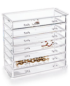 Honey Can Do Acrylic Emily Jewelry Chest