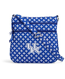 Vera Bradley Kentucky Wildcats Triple Zip Hipster