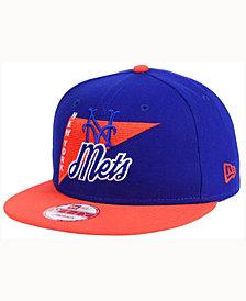 New Era New York Mets Logo Stacker 9FIFTY Snapback Cap