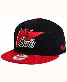 New Era Chicago Bulls HWC Logo Stacker 9FIFTY Snapback Cap