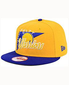 New Era Golden State Warriors HWC Logo Stacker 9FIFTY Snapback Cap