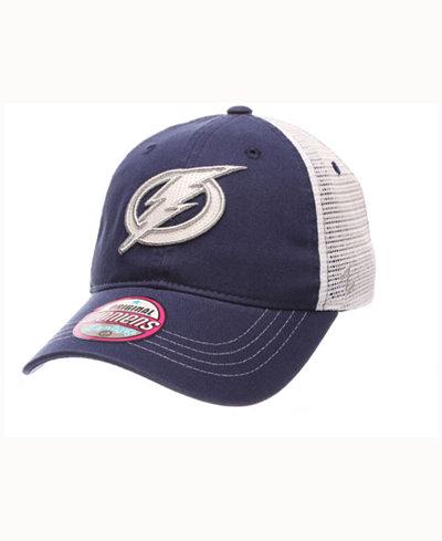Zephyr Women's Tampa Bay Lightning Glimmer Snapback Cap