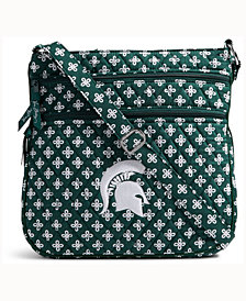 Vera Bradley Michigan State Spartans Triple Zip Hipster