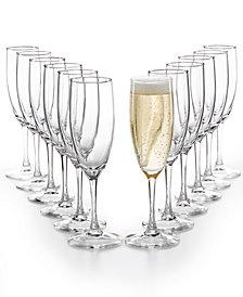 Champagne and toasting flutes macys martha stewart essentials 12 pc flutes set created for macys solutioingenieria Choice Image