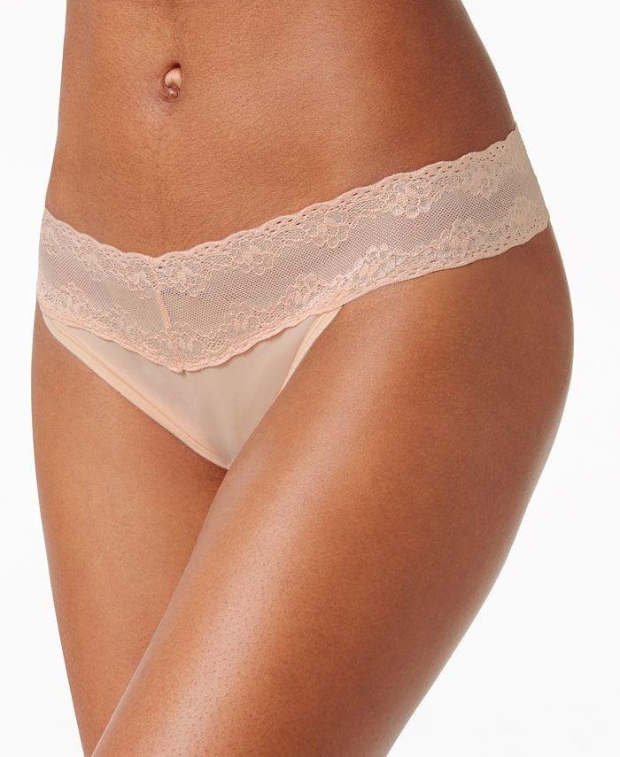 Natori - Bliss Perfection Lace-Waist Thong 750092
