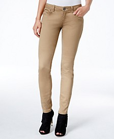 Juniors' Jayden Colored Wash Skinny Jeans