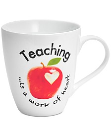 Pfaltzgraff Teaching Is A Work Of Heart Mug