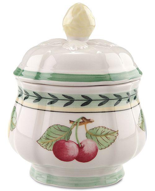 Villeroy & Boch Dinnerware, French Garden Fleurence Sugar Bowl