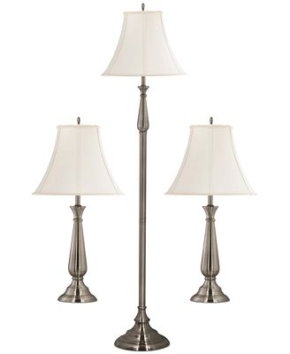 Kenroy Home Banister 3-Pc. Lamp Set