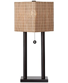 Kenroy Home Offset Table Lamp