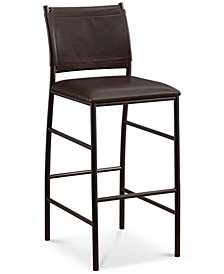 Colton Bar Height Stool, Quick Ship