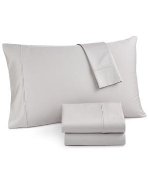 Easton California King 4Pc Sheet Set 620 Thread Count 100 Cotton Created for Macys Bedding