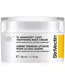 TL Advanced Light Tightening Neck Cream, 1.7 oz