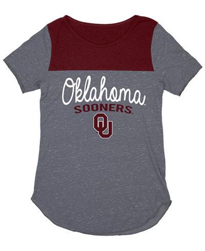 Blue 84 Women's Oklahoma Sooners Confetti Yolk Block T-Shirt