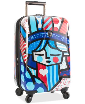 "Britto Freedom 21"" Carry-On Expandable Hardside Spinner Suitcase"