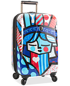 "Heys Britto Freedom 21"" Carry-On Expandable Hardside Spinner Suitcase"