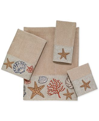 Avanti Sea Treasure Towel Collection