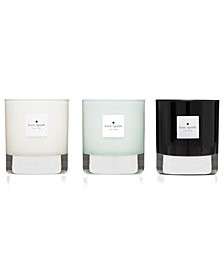 kate spade new york Walk on Air Candle Trio