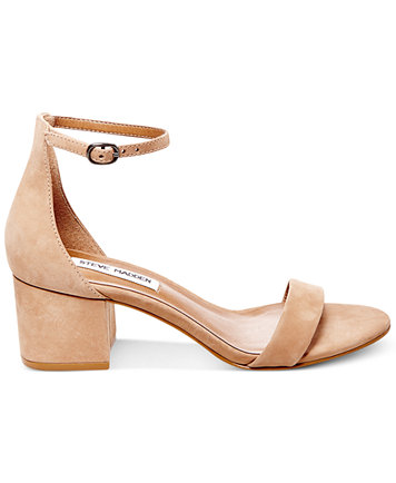 Image 2 of Steve Madden Women's Irenee Two-Piece Block-Heel Sandals