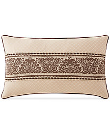 """CLOSEOUT! Waterford Astor 12"""" x 20"""" Decorative Pillow"""
