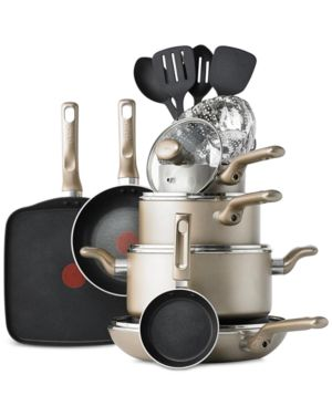 T-fal Culinaire 16-Pc. Cookware Set 1137035