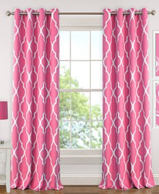 Emery Geometric Print Blackout Curtain Collection