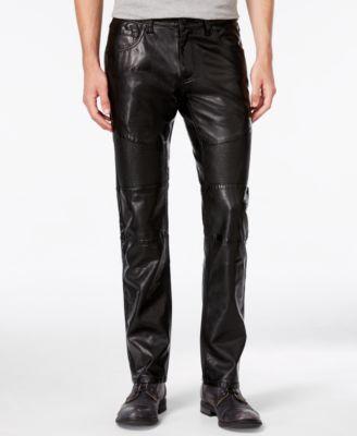 57c3b6bc421 Inc international concepts i mens slim fit faux leather pants created for  macys tif 500x613 Denim