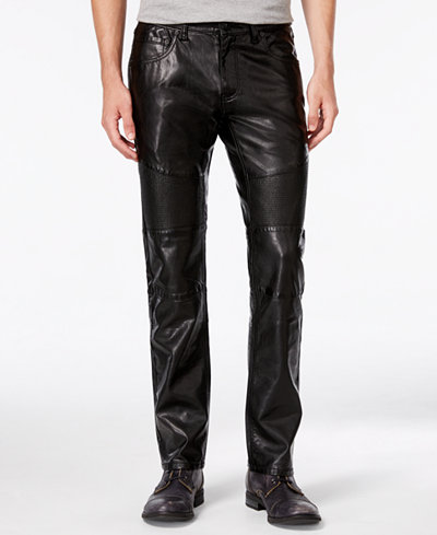Find great deals on eBay for mens faux leather pants. Shop with confidence.