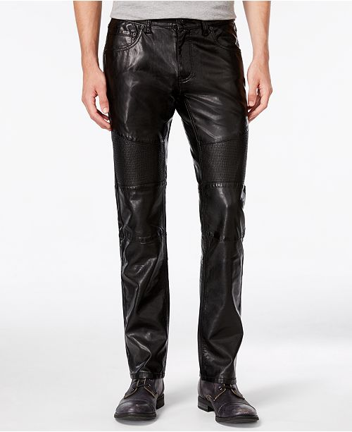 a793ae69 ... INC International Concepts I.N.C. Men's Slim-Fit Faux Leather Pants,  Created for Macy's ...