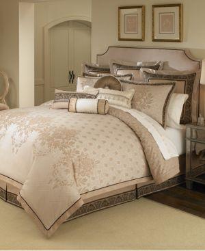 Closeout! Waterford Astor Reversible King 4-Pc. Comforter Set Bedding 2999339