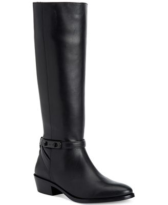 COACH Caroline Riding Boots - Boots - Shoes - Macy's