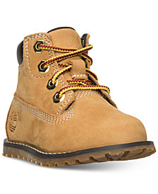 "Timberland Toddler Boys' Pokey Pine 6"" Zip Up Boots from Finish Line"