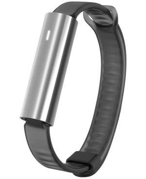 Unisex Ray Black Silicone Sport Band Activity Tracker 12X38Mm Mis1005