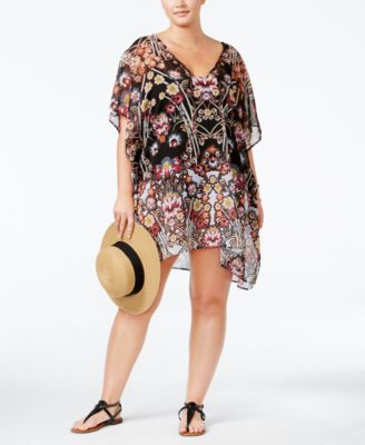 Becca ETC Plus Size Havana Cover-Up