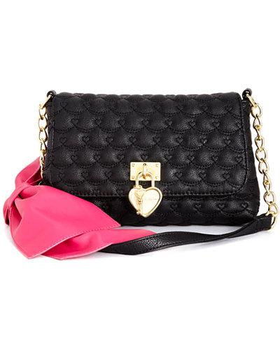 Betsey Johnson Bow Shoulder Bag, Only At