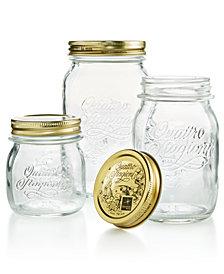 Bormioli Rocco Quattro Stagioni Lidded Jar Collection
