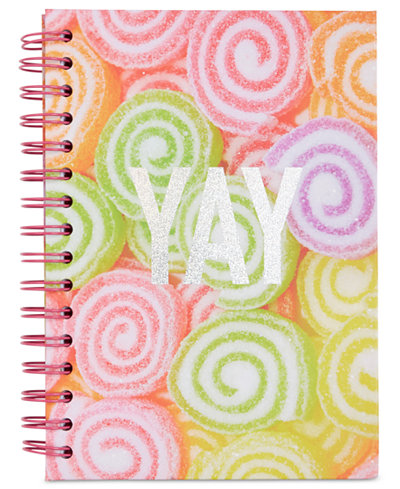 Celebrate Shop Swirl Spiral Notebook, Only at