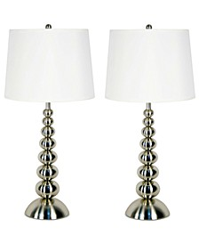 Baubles 2-Pc. Table Lamp Set