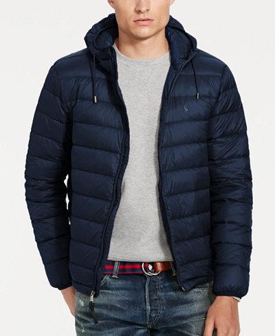 Polo Ralph Lauren Men's Packable Down Jacket - Coats & Jackets ...