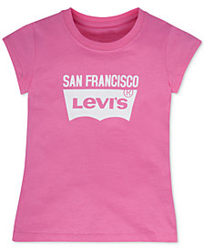 Levi's® San Francisco Graphic-Print City T-Shirt, Little Girls (4-6X)