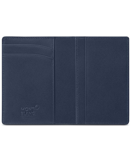 Montblanc meisterstck navy business card holder 114554 watches main image colourmoves