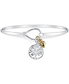 Tree Charm Bracelet in Sterling Silver