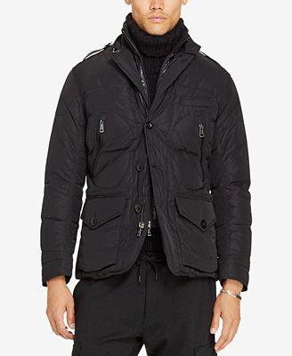 Polo Ralph Lauren Men's Quilted Twill Down Jacket - Coats ...