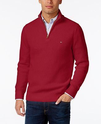 Polo Quarter Zip Sweater
