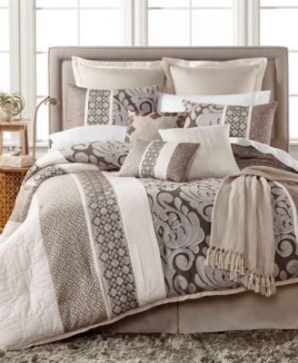 Leighton 10 Pc. Comforter Set, Created For Macyu0027s