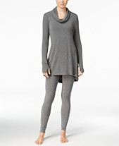c339c7627b686 Cuddl Duds Softwear Stretch Cowl-Neck Tunic & Leggings